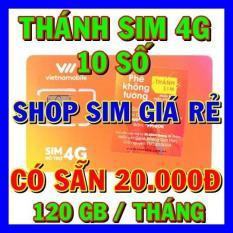 Thánh sim 4G Vietnamobile 10 số Tặng 120Gb/tháng + 20.000đ – Shop Sim Giá Rẻ – Sim 4G Vietnamobile