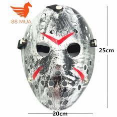 Halloween Khẩu Trang Mascara Vũ Tập Hợp Mặt Nạ Jason Nhiều Lỗ
