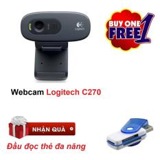 Webcam Logitech HD C270 (Đen)