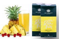 Nước ép dứa (thơm) tươi nguyên chất Le Fruit 1L