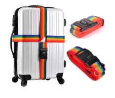 Dây tag màu có khóa hành lý 2m x 5cm