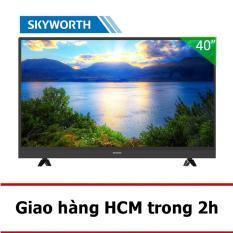 Smart TV Skyworth 40 inch Full HD – Model 40S3A11T (Đen) – Hãng phân phối chính thức