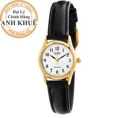 Đồng hồ nữ dây da Casio Anh Khuê LTP-1094Q-7B1RDF