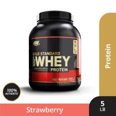 Thực phẩm bổ sung Optimum NutritionGold Standard 100% Whey Delicious Strawberry 5 lbs