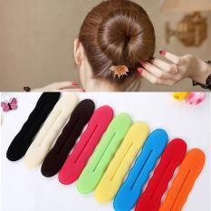 Dụng cụ búi tóc tròn tạo kiểu tóc củ tỏi nữ tính duyên dáng – phụ kiện tóc độc đáo cho bạn gái