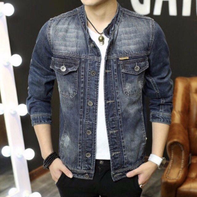 Áo Khoác Jeans Nam Phong Cách M10
