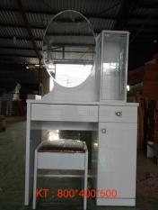 Bàn trang điểm kèm ghế Mina Furniture MN-BPMDF-12 (800*400*500)