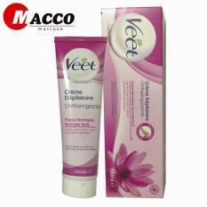 Kem tẩy lông Pháp 100ml – Dành cho da thường – màu hồng