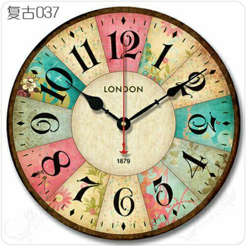 Đồng hồ treo tường cổ điển đường kính 30cm