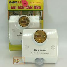 Combo 2 đui đèn cảm ứng hồng ngoại đèn tự bật khi có người chuyển động Kawasan KW-SS68