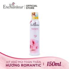 Enchanteur – Xịt ngăn mùi toàn thân Romatic 150ml