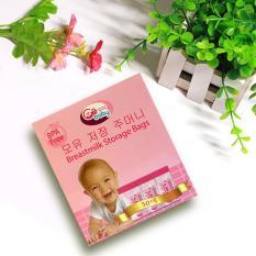 Túi trữ sữa GB Baby Hàn Quốc 250ml – Hộp 50 túi
