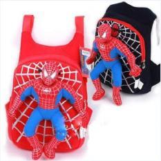 Balo siêu nhân người nhện cho bé từ 2-5 tuổi