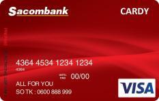 Thẻ quà tặng Sacombank Red