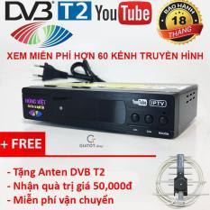 Đầu thu kỹ thuật số DVB-T2 HÙNG VIỆT TS-123 Internet tặng Anten DVB T2