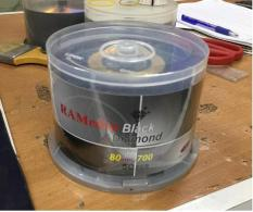 Hộp 50 đĩa CD-R RAMedia Black Diamond