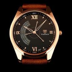 Đồng hồ nam thời trang dây da cao cấp Yazole Q04(Cập nhật 2019)