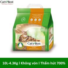 Cát vệ sinh hữu cơ cho mèo Cat's Best Comfort (không vón cục) 4.3kg