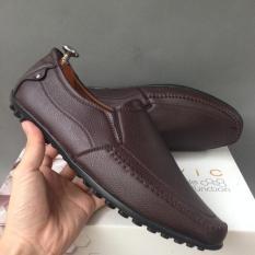 [TẶNG DÉP FREE]Giày mọi nam da bán chạy chỉ 3 ngày sale giá gốc rẻ bền đẹp hot trend 2019