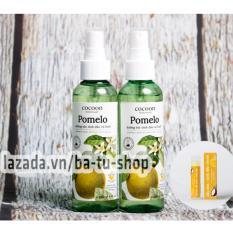 Bộ 2 Chai Xịt Tinh Dầu Bưởi Pomelo (Tặng 1 Son) Ngăn rụng tóc giúp tóc dài và dày hơn 130ml