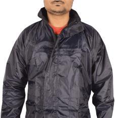 Bộ áo mưa Vải Dù kín người siêu nhẹ mẫu 2018 (Áo và quần)