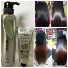 Hấp phủ lụa tơ tằm phục hồi tóc Fakeshu