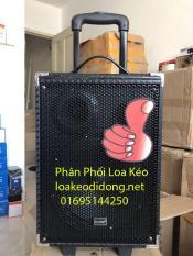 Loa kéo di động karaoke Temeisheng q8 bluetooth tặng kèm micro không dây