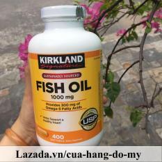Viên Uống Dầu Cá Kirkland Fish Oil 1000mg 400V