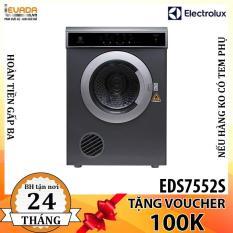 (ONLY HCM) Máy Sấy Quần Áo Electrolux EDS7552S 7.5 kg