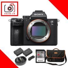 Sony Alpha A7 mark III (Body) – Tặng thẻ nhớ 32Gb (260Mbs) + Bộ pin sạc Wasabi FZ100 + Túi, balo
