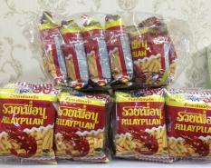 Lốc 12 gói Snack tôm RuayPuan Thái lan