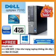 Thùng Dell optiplex 7010 ( Core i3 2100 / 8G / 500G ), Tặng USB Wifi , Bàn di chuột – Bảo hành 24 tháng – Hàng Nhập Khẩu