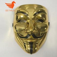 mặt na hacker halloween màu vàng MẶT NẠ COSPLAY