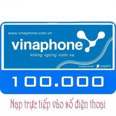 Nạp tiền Vinaphone 100k