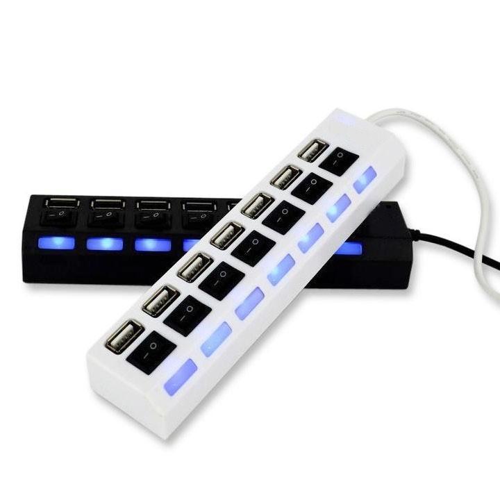 Nên mua Bộ Chia Cổng USB, USB Hub 7 Port Có Công Tắc ở Hương Thịnh