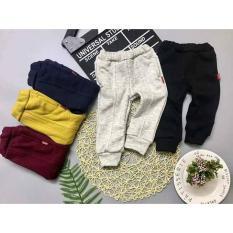 quần nỉ lót lông siêu ấm cho bé 7-28kg