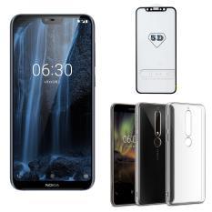 Nokia X6 64GB Ram 6GB (Xanh ) – ShopOnline24 + Cường lực 5D Full màn + Ốp lưng – Hàng nhập khẩu