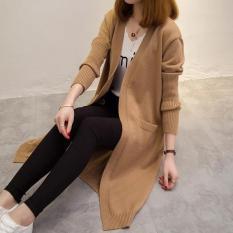 Áo cardigan len dáng dài