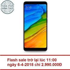 Giá Sốc Xiaomi Redmi 5 32GB Ram 3GB (Đen) – Hãng phân phối chính thức