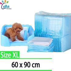 Tã Siêu Thấm Lót Chuồng Cho Thú Cưng – Size XL 60 x 90 (Bộ 10 tấm)