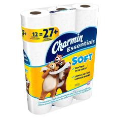 Giấy vệ sinh Charmin.Essentials.Soft 12 Cuộn