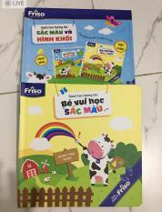 Sách sắc màu và hình khối Friso
