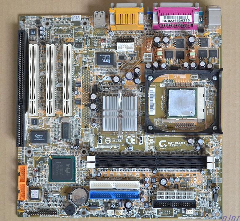 Mainboard P4 945 Slot ISA