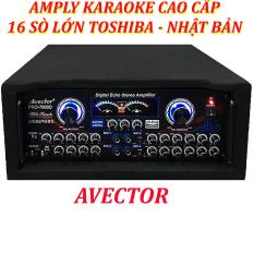 Ampli sân khấu Amply karaoke nghe nhạc hội thảo AVECTOR CÔNG SUẤT LỚN 7800 2400W amply karaoke hay nhất amply nghe nhạc tặng usb bluetooth.