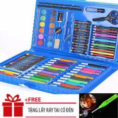 (TẶNG LẤY RÁY TAI CÓ ĐÈN)Bộ bút màu 86 chi tiết dành cho bé