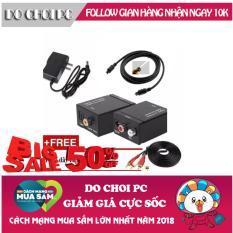 Bộ chuyển âm thanh TV 4K quang optical sang audio AV ra amply + Cáp optical 1.5m + Dây AV 4 Đầu bông sen, tiện ích hơn Jack chia ra 2 tai nghe 4 khấc – Jack 2 (màu ngẫu nhiên), cáp chia Audio 2 cổng 3.5mm, thiết bị chia tín hiệu âm thanh