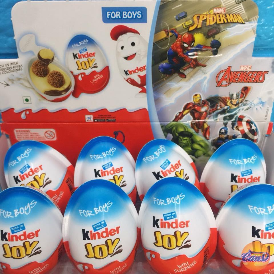 Trứng Chocolate đồ chơi Kinder Joys Boys