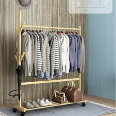 Giá treo quần áo bằng tre