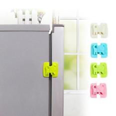 Bộ 3 cái gài cửa tủ lạnh tiện dụng