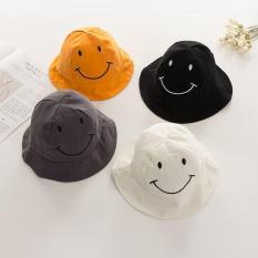 mũ rộng vành hình mặt cười